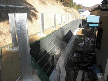 7. 落石防護柵設置
