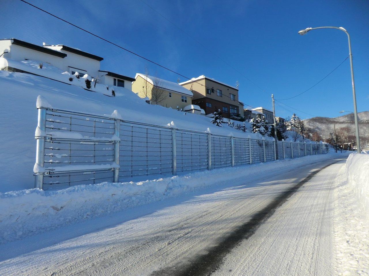 月山線(福井2丁目479番地先)落雪防護柵設置工事