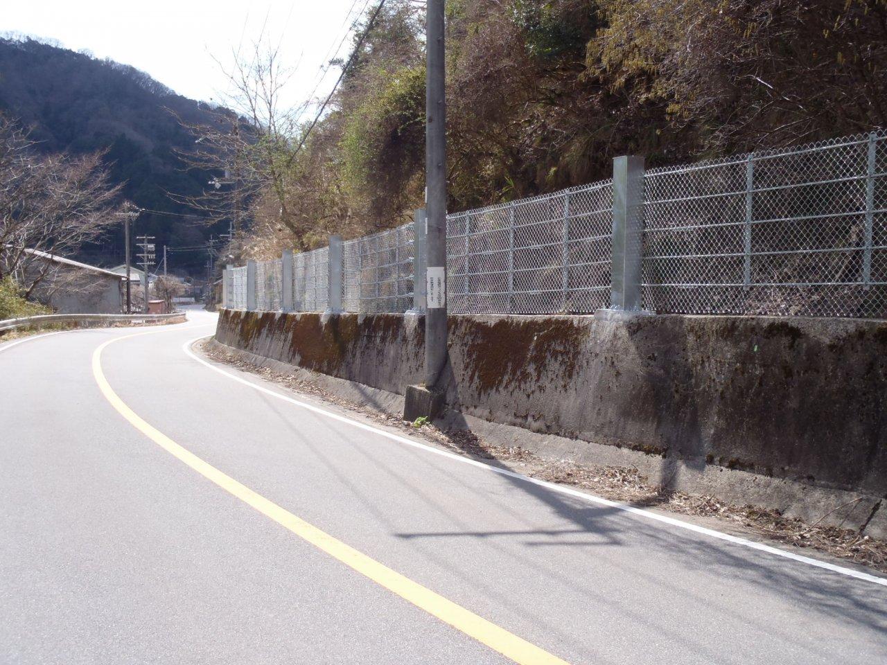 道路防災工事(上石井工区)