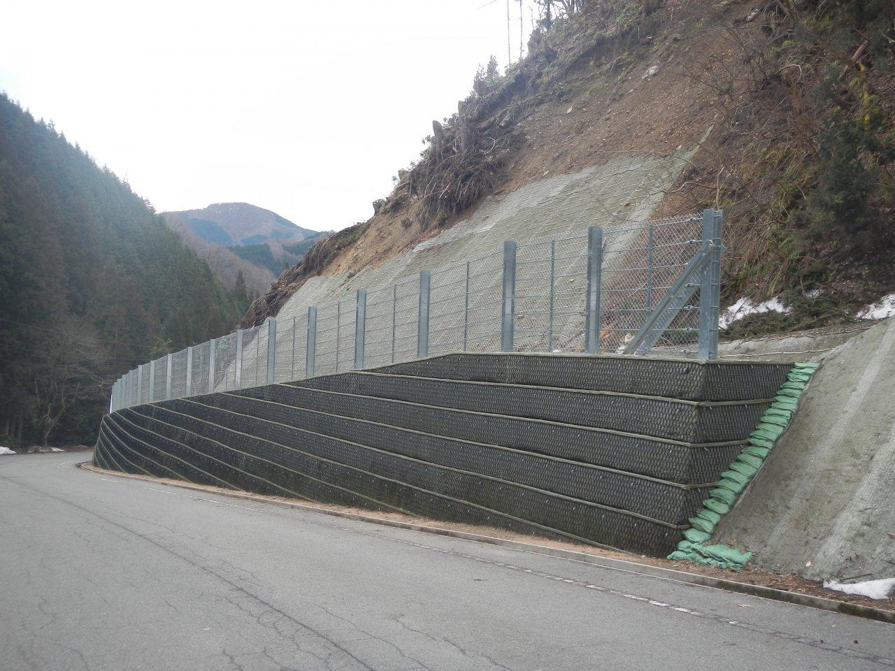 市道熊野神社線災害防除工事