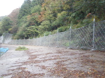 一般国道364号道路災害防除工事(法面工その6)