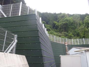 擁壁工事西山Aその1(補助砂防)