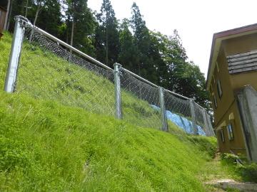 山下3号区域急傾斜地崩壊対策工事