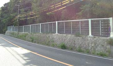平成29年度神戸三木線道路防災工事