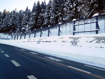 平成29年度八木沢地区雪崩予防柵設置工事