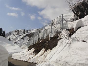 主要地方道柏崎高浜堀之内線防災安全(雪寒)楢木雪崩予防柵設置その2工事
