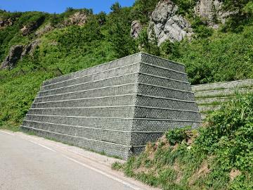 防災安全(公共災防)願落石防護壁工事