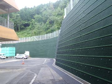 擁壁工事西山その1(補助砂防)