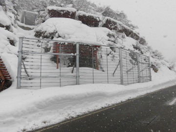 一般県道西枯木又堀之内線防災安全(雪寒・補正)雪崩予防柵設置工事