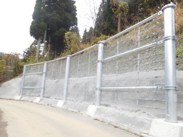 雪崩予防柵設置(安全安心)工事