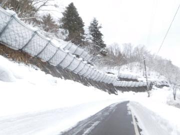 一般県道黒倉野中線防災安全(雪寒・補正)雪崩予防柵設置工事